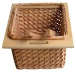 Pullout Wicker Baskets