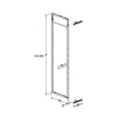 Tall Softclose Pullout Larder 400mm