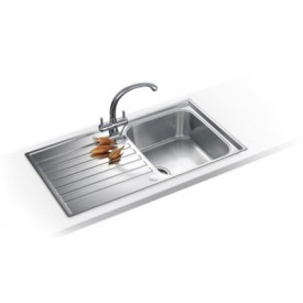 Franke Ascona Sink Single Bowl & Drainer