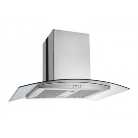 Island Hood Curved Glass 900