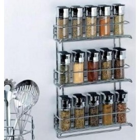 Chrome Spice Racks
