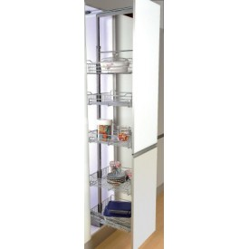 Tall Softclose Pullout Larder 300mm