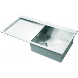 Square Single Bowl & Drainer