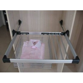 Pull - Out Basket with Trouser Rail